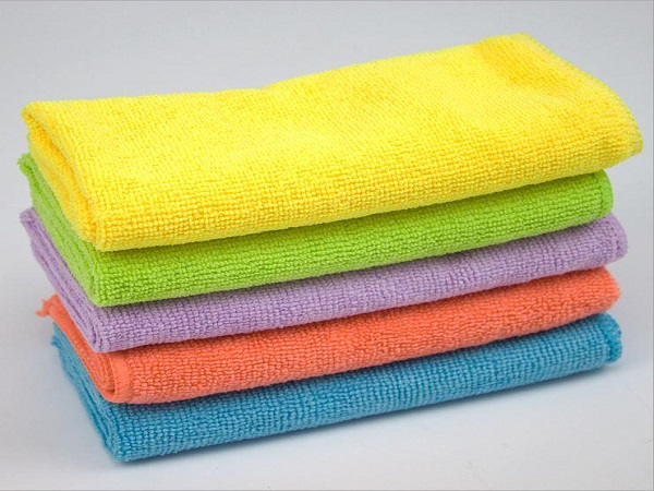 Economy Wrap Knitted Microfiber Towel For Car Washing