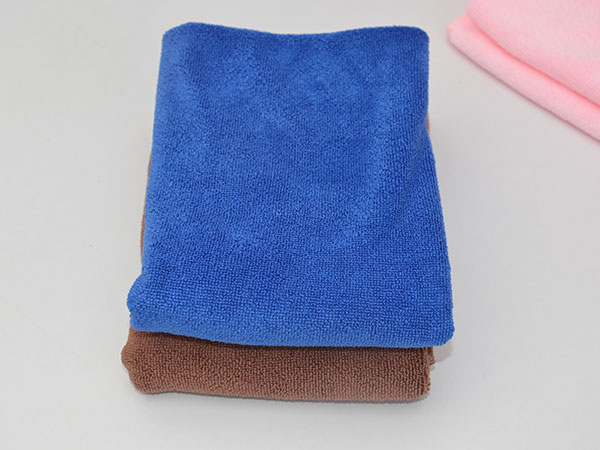 Weft Knitted Car Washing Towel 35x35cm 300gsm