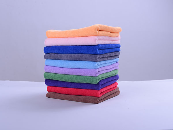 Weft Knitted Car Washing Towel 30x30cm 320gsm