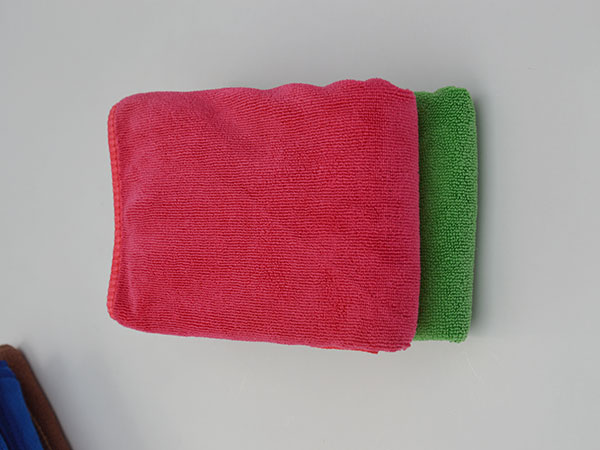 Weft Knitted Car Washing Towel 35x35cm 320gsm