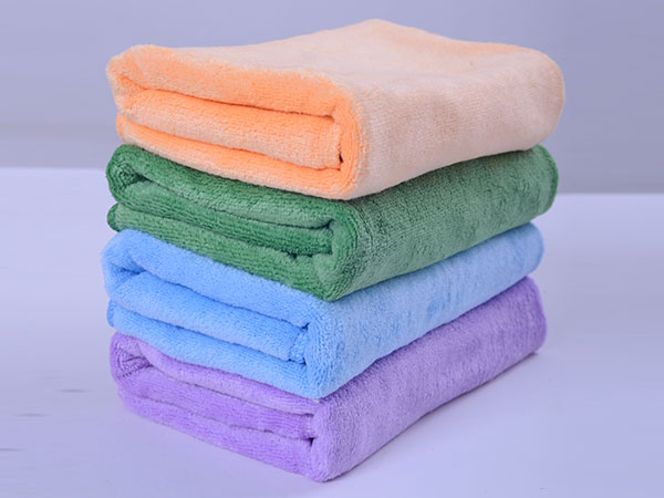 Weft Knitted Car Washing Towel 40x40cm 320gsm