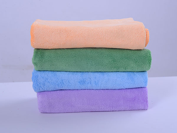 Weft Knitted Car Washing Towel 40x60cm 320gsm