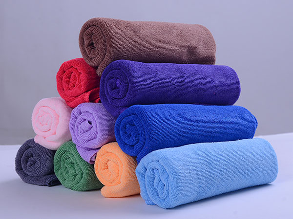 Weft Knitted Car Washing Towel 30x60cm 380gsm
