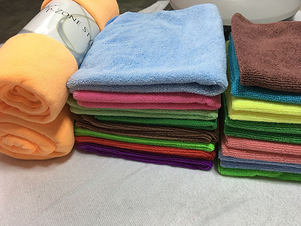 Weft Knitted Car Washing Towel 35x75cm 380gsm