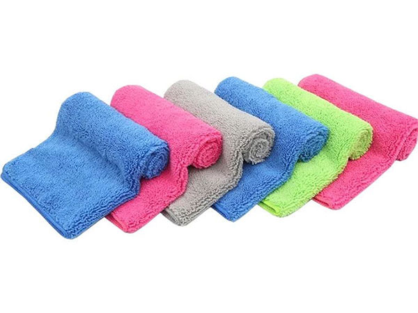 Weft Knitted Car Washing Towel 50x90cm 380gsm