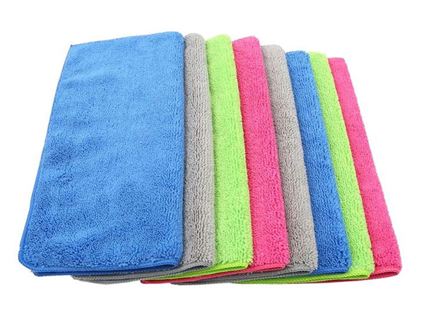 Weft Knitted Car Washing Towel 35x35cm 400gsm