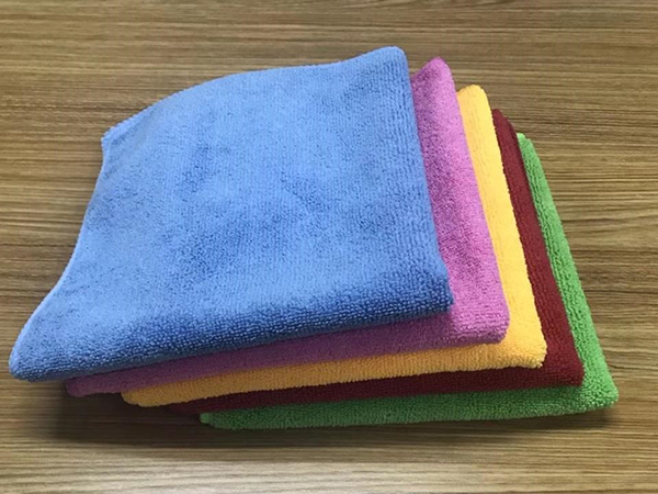 Warp Knitted Mutipurpose Microfiber Cleaning Towel 1