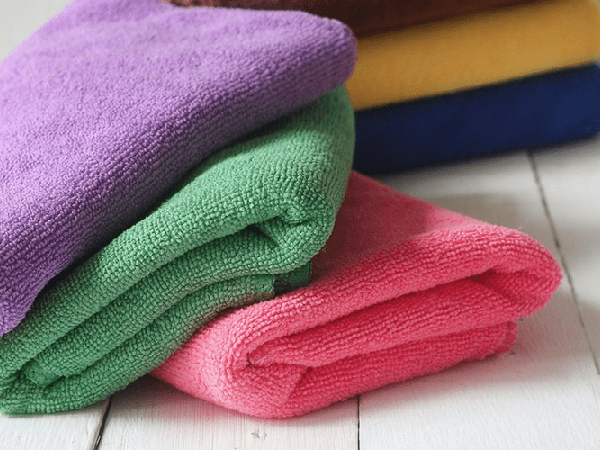 Warp Knitted Mutipurpose Microfiber Cleaning Towel 2